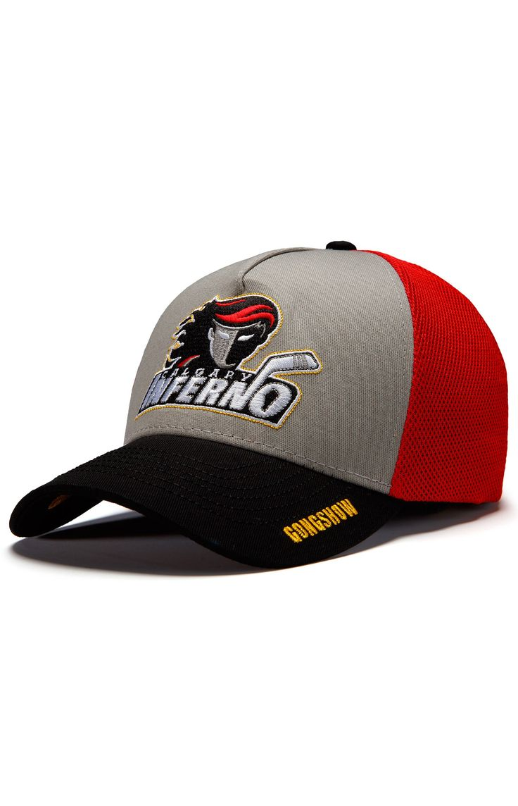CWHL Calgary Inferno Womens Hockey Hat - Gongshow Gear - Lifestyle Hockey Apparel