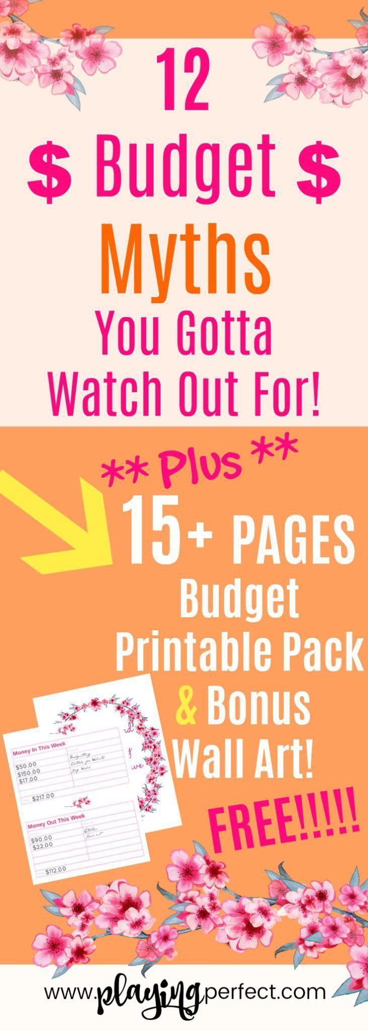 153 besten Budget Printables - Free! Bilder auf Pinterest ...