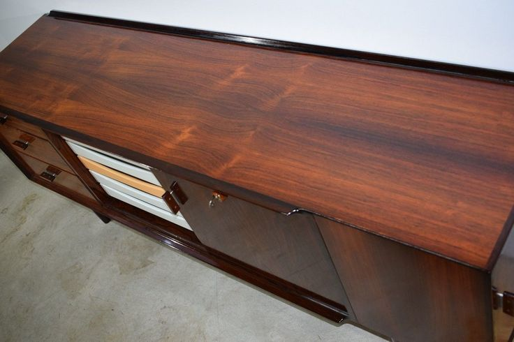 Danish mid century rosewood sideboard, design by Arne Vodder, produced by Sibast
