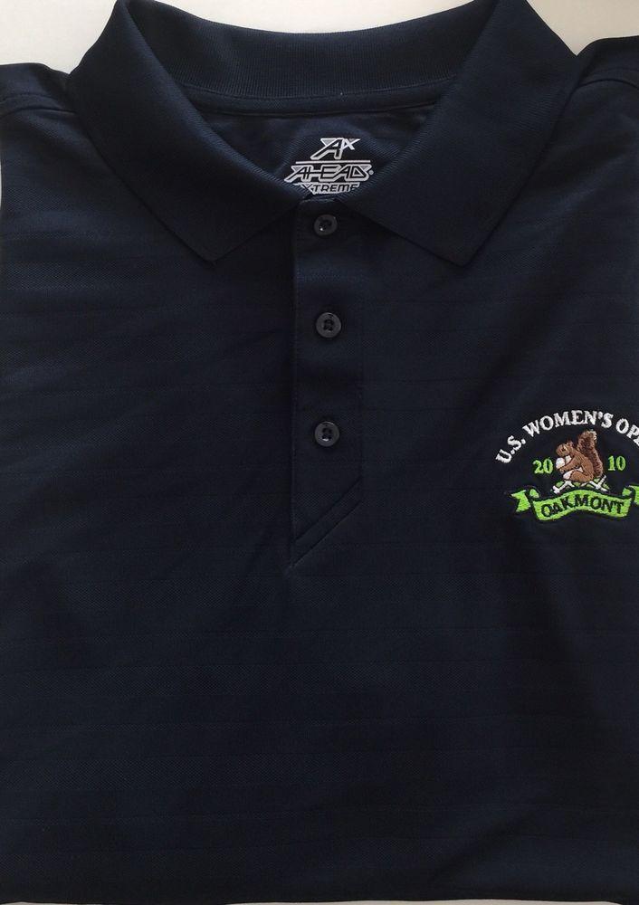 AHEAD  U.S. Women's OPEN  GOLF Polo Shirt  Women's  XL Oakmont