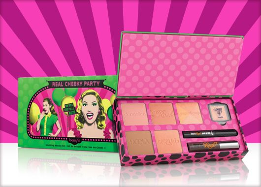 Benefit Cosmetics - REAL cheeky party #benefitbeauty