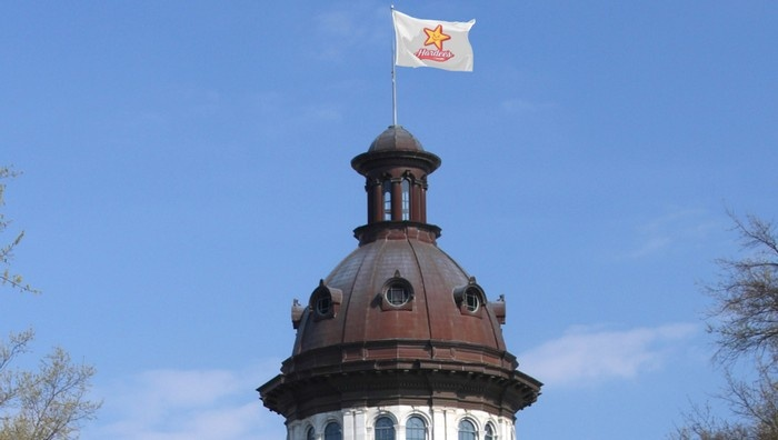 capitol flags