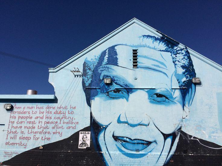 Nelson Mandela graffiti #graffiti #quotes #NelsonMandela