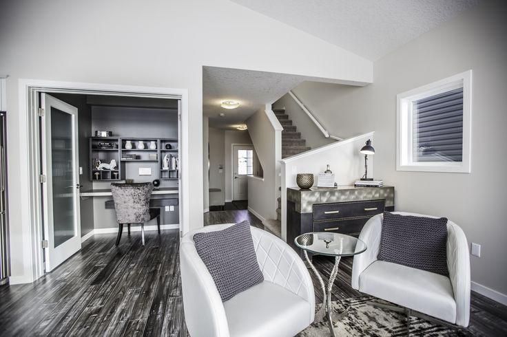 We love this unique flooring selection!