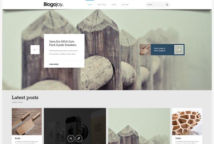 Blogojoy – Best Minimalist Multi Purpose WordPress Blog Theme
