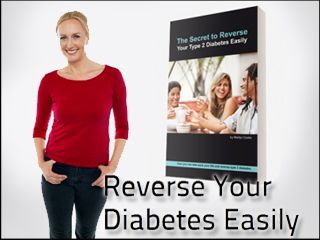 Reverse Your Diabetes Easily. Type 2 diabetes does not have to be a life sentence. You can have normal blood glucose levels and effectively reverse your type 2 diabetes easily by changing one small thing that you do every day.  This eBook is based on scientific research done at a number of well known universities, not some fad or trend.