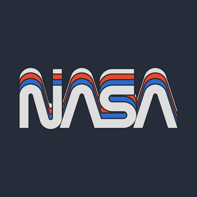Vintage Check Out This Awesome Nasa Worm Retro Design On