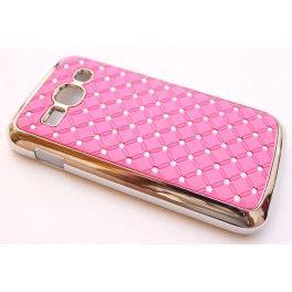 Galaxy Ace 3 vaaleanpunaiset luksus kuoret