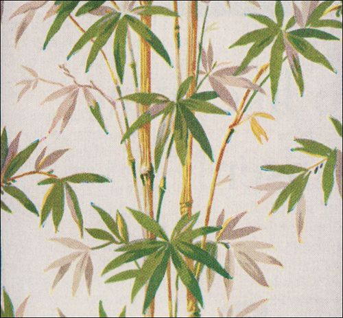 1941 Bamboo Wallpaper by American Vintage Home, via Flickr