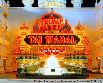 Trump Taj Mahal Casino - Check