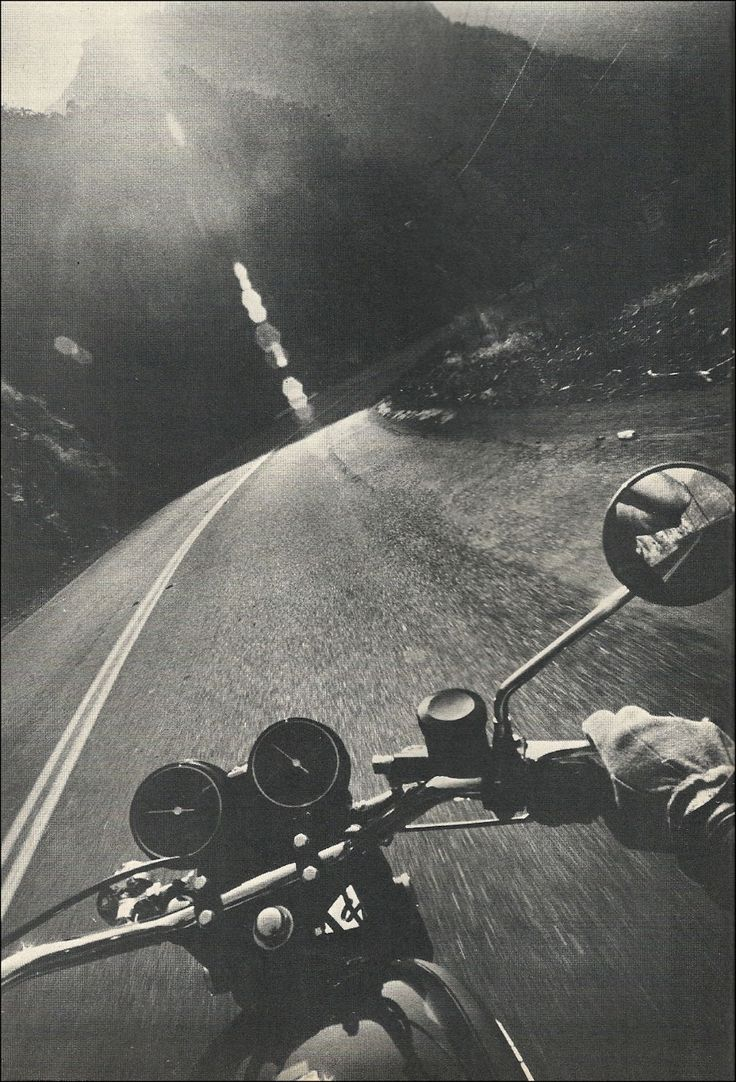 Get riding Dennis Hopper style - but make sure that's a Nikon F camera strapped to your helmet to capture your journey!