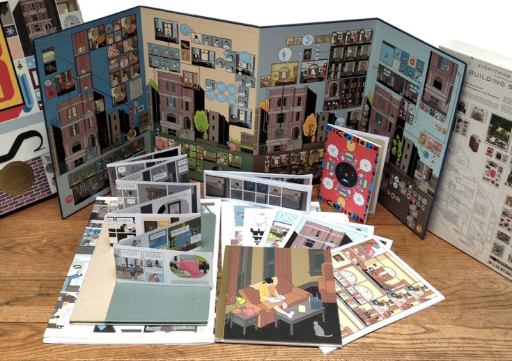 Chris Ware's 'Building Stories'. A stunning work of art....