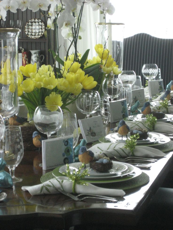 1000 Images About Easter Amp Spring Tablescapes On