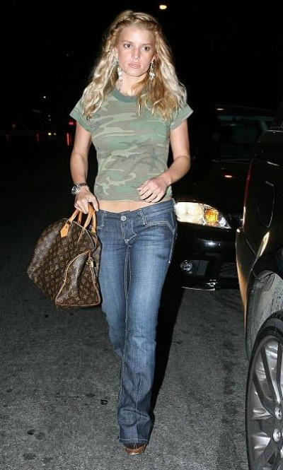 Jessica Simpson throw back