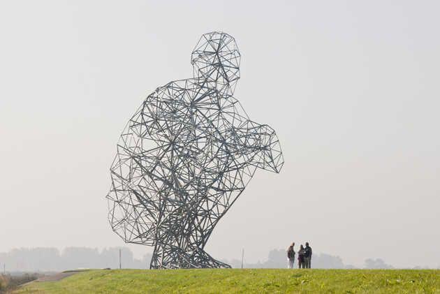 Exposure (2010), Antony Gormley. © Jordi Huisman, Museum De Paviljoens