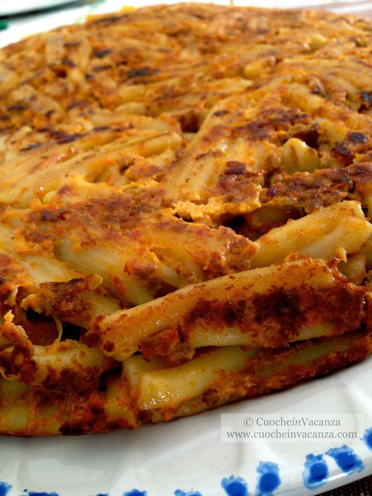 La cucina degli Avanzi: Pasticcio di Pasta al Ragu, un grande piatto per grandi e piccini