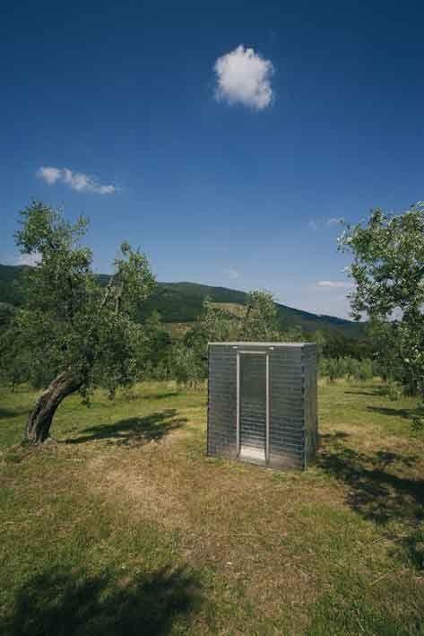 """""""Gemelli"""" by Jaume Plensa, 1997_Collezione Gori - Fattoria di Celle, Santomato (Pistoia), IT"""