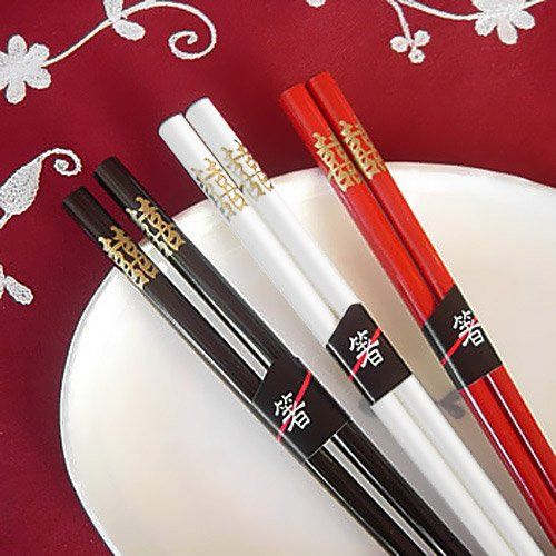 Double Happiness Chopsticks by Beau-coup...for some Chinese flair