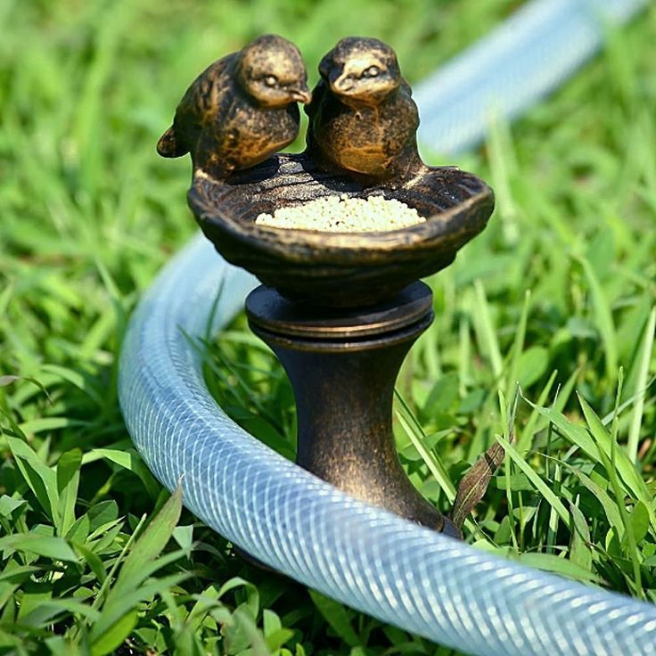 22 best hose guards hooks and posts images on pinterest for Garden hose stakes