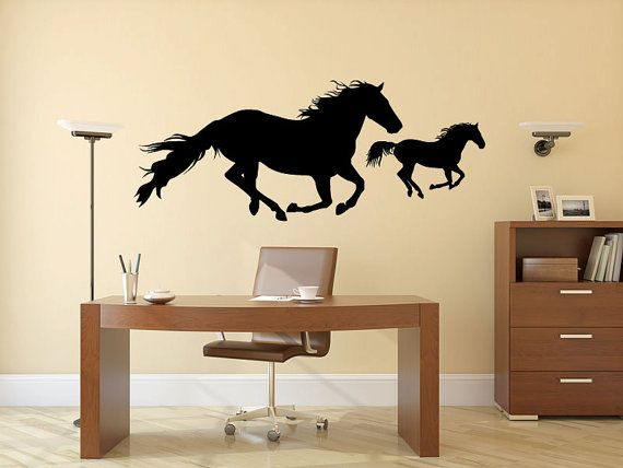 14 best Horse Stickers for Wall images on Pinterest | Horses, Horse ...