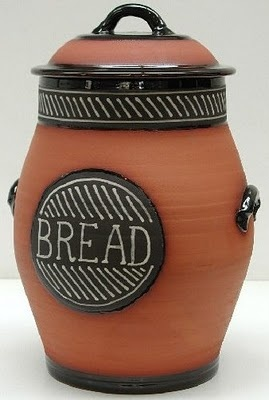 British bread crock from Richard Baxter.