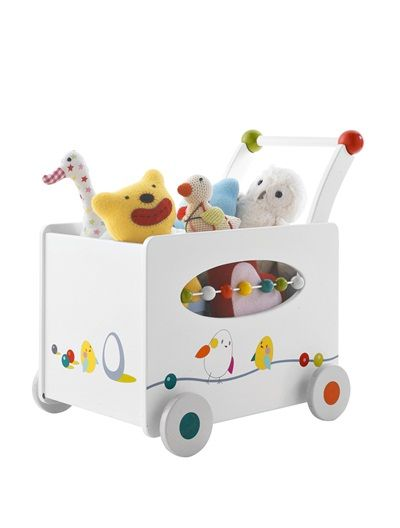 #¡Al bebé le encantará aprender a guardar sus #juguetes en este #baúl con…