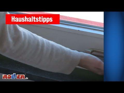 Haushaltstipps: Fenster & Türen abdichten - YouTube