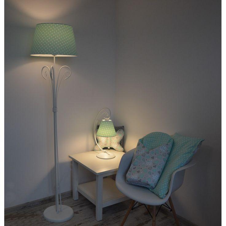 Lampa Podłogowa Miętowe Marzenie
