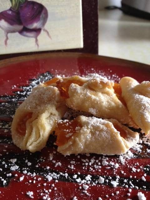 #SundaySupper Hungarian apricot walnut pastry recipe