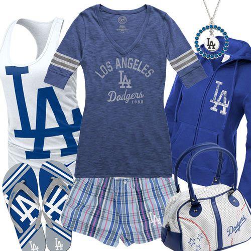 Girls Baseball Fashion, Dodgers Baseball Gear