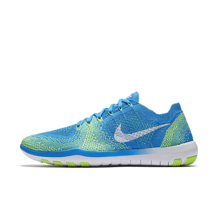 Nike Free Focus Flyknit 2 Women's Training Shoe Size 11.5 (Blue) -  Clearance Sale