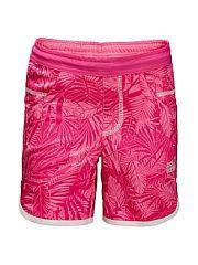 Шорты JUNGLE SHORTS GIRLS Jack Wolfskin.  Легкие эластичные летние шорты с защитой от ультрофиолета.