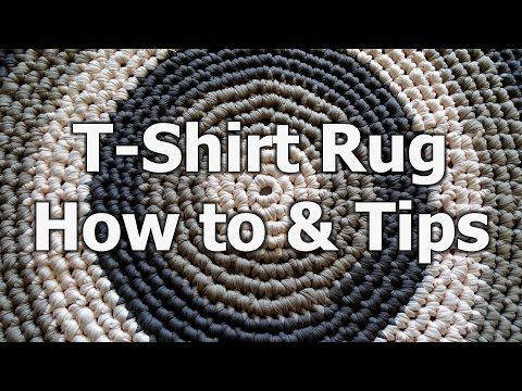 NO SEW Sheet Yarn and Info for Rag Rug Making - YouTube