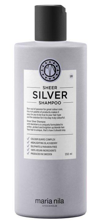 Maria Nila Care Shampoo Silver (350ml) i gruppen Hårvård / Schampo & balsam / Silverschampo hos Bangerhead (B003041)