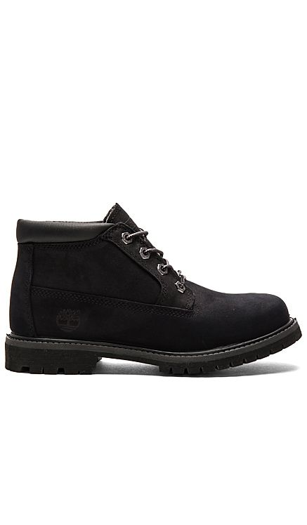 Timberland Nellie Boot in Black Nubuck | REVOLVE