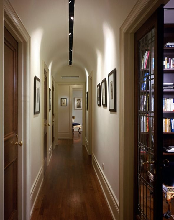 Classic american style hallway for elegant home interior for American classic interior