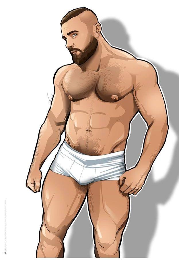 Comic erotic male