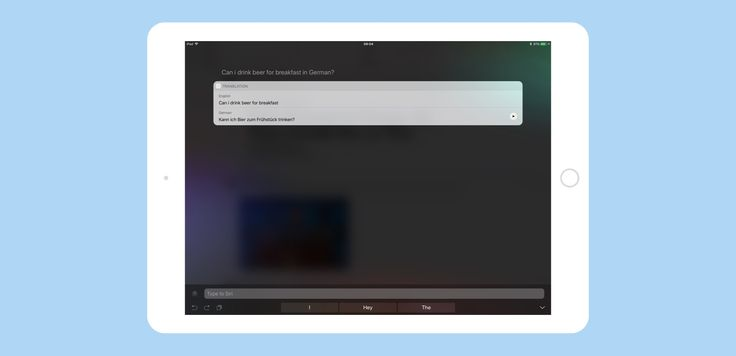 Siri can translate from English to five other languages in iOS 11. Just tell it what you want to say, and Siri will translate it for you.