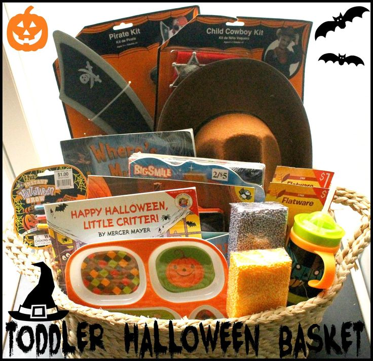 Toddler Halloween Basket 2014 - Year 2 of our Toddler Halloween Basket!!! - House of Burke