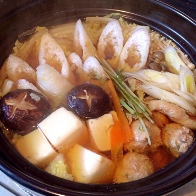 今夜は寒いので鍋に してみましたぁ(′・∀・)ノシ ♡ - 68件のもぐもぐ - きりたんぽ鍋♡ぐつぐつ中‼︎ by donaldchiaki