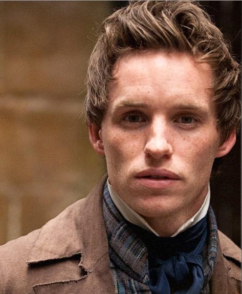Eddie Redmayne as Marius   Charming, witty, and powerful ...