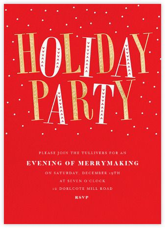 Jaunty Party - Red - Paperless Post