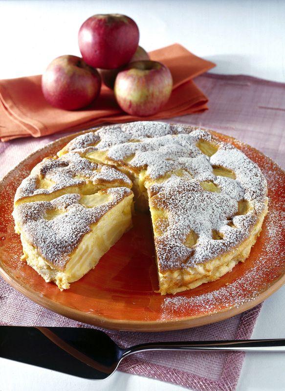 Torta di mele al profumo di limone
