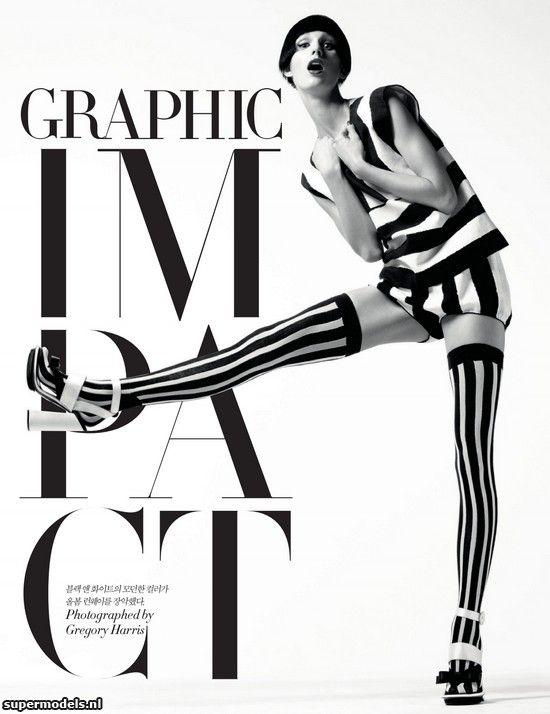 Supermodels.nl Industry News - Marte van Haaster in Graphic Impact...