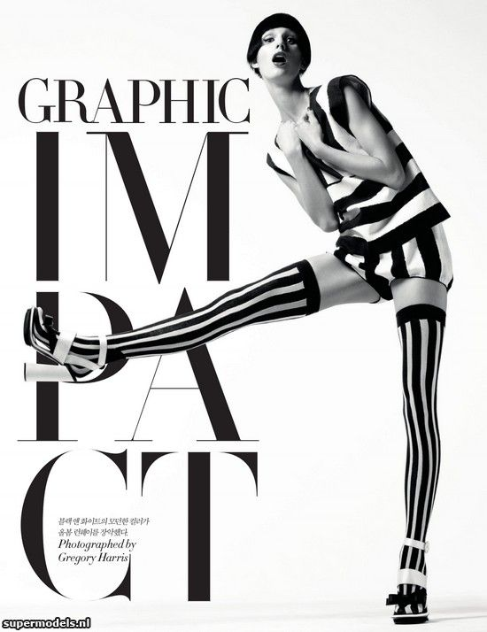 Supermodels.nl Industry News - Marte van Haaster in Graphic Impact... Absolutely grazylovely!