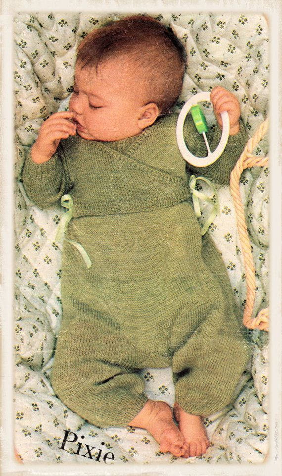 Instant Download PDF Vintage Eighties Knitting by YesterdaysMagic, $3.50