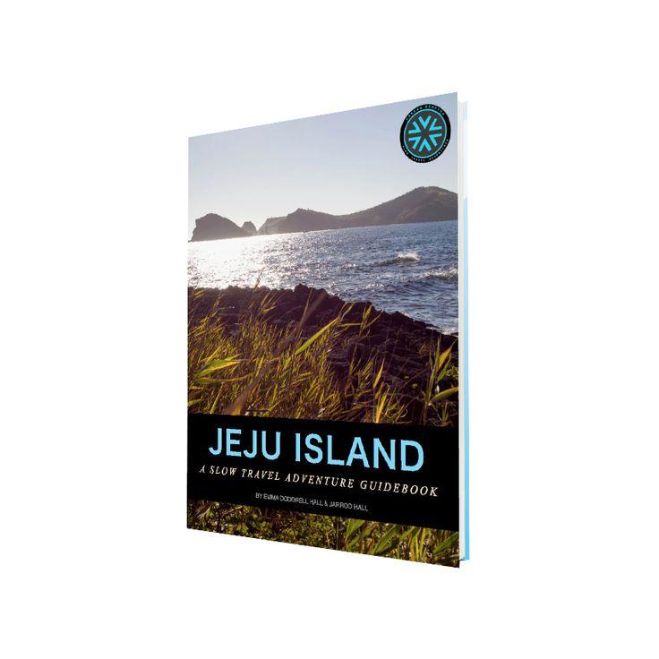 Jeju eBook Cover - Jeju Island Slow Travel Adventure Guidebook