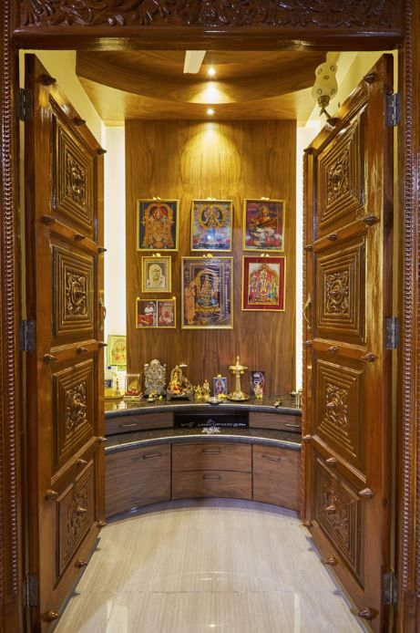 81 best Pooja room images on Pinterest | Puja room, Prayer room ...
