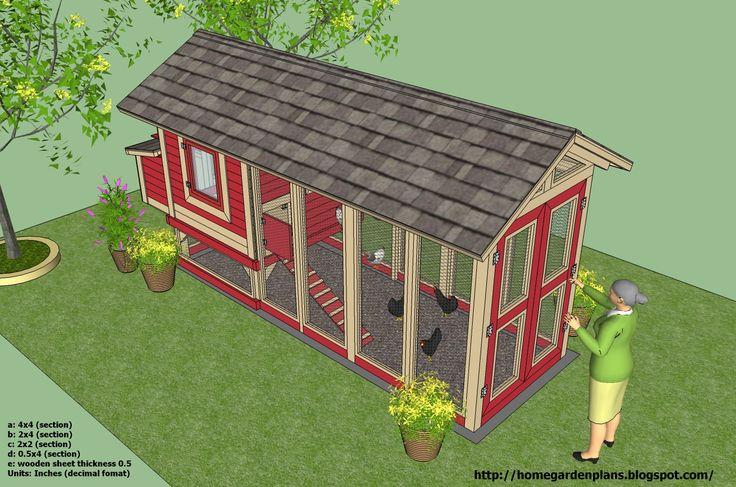 chicken coop plans | chicken coop plans and designs http www chickencoops net au a chicken ...