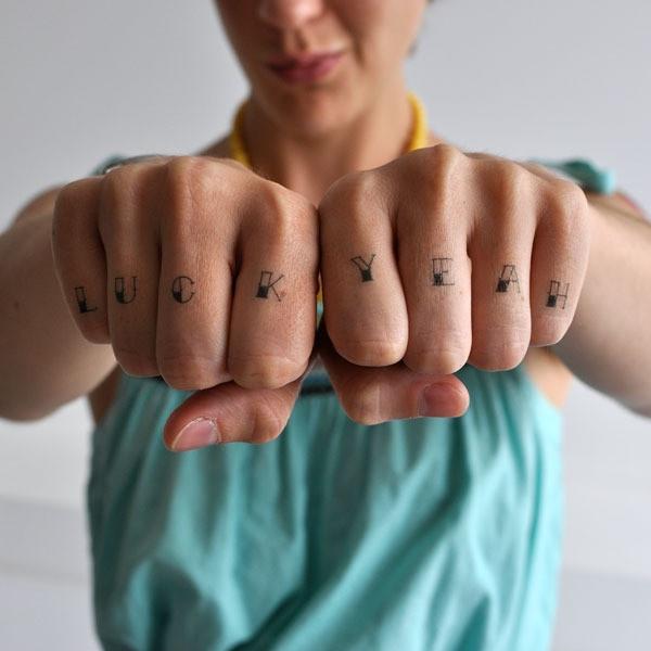 Tattly.com: Awesome Temporary, Awesome Tattoo, Temp Tattoo, Knuckle Temporary, Removal Tattoo, Knuckle Tattoo, New Tattoo, Temporary Knuckle, Temporary Tattoo